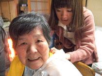 訪問美容の想い出 奈良県生駒郡 N様
