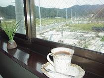 喫茶店「夢宇民(ムーミン)」で