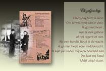 Frans Verdickt en Margriet Beets-boerderij Beets-oude liedjestekst.