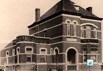 Huis Boels-tegenover de kerk-later kapelanie-foto bekomen door toedoen van Maurice Ceunen.