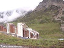 station de ski betonnage