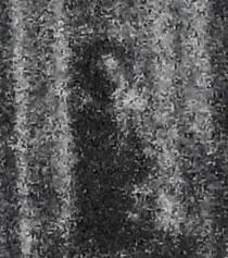 la figura pareidolica di un bambino