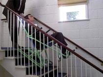 階段避難者『エクセルチェアー』