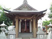 尼崎市額田白井神社