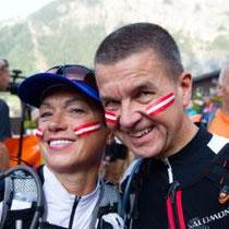 Vor dem Start Margit+Franz