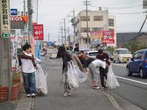 二年連続の名張市のゴミ拾い