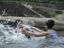 当日の水遊びの様子v