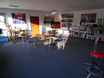 Das neue Atelier in der Borsteler Chaussee