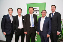 Hr. Partl (WIFI Stmk), Michael Baumgartner, Paul Slamanig, Peter Trameger, David Schütze (WIFI Stmk)