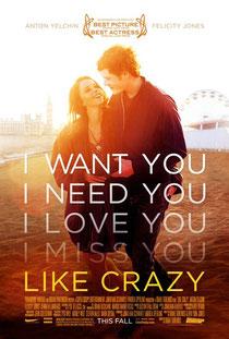 """Like crazy"", tellement attendu."