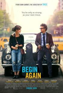 begin again affiche poster