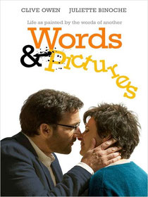 words and pictures affiche