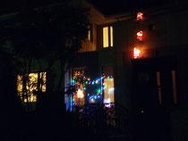 クリスマスイルミネーション (3丁目のお宅)
