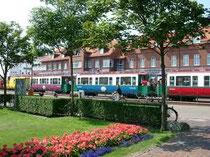 Bahnhof auf Borkum