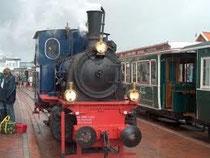 Kleinbahn auf Borkum