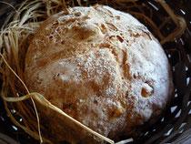 パンの直径は約16cm、焼きあがりの重さも450gというボリューム。