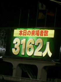 3162人のお客さまにご来場いただきました!