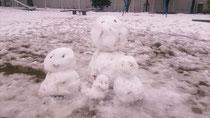 雪だるまファミリー♫