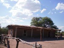 Réplica de la casa natal del Chacho en Huaja