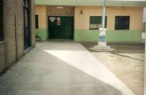 Fachada principal del Colegio