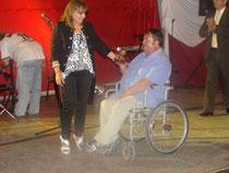"""Corresponsal del diario """"El Independiente"""" recibe su premio"""