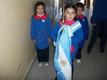 Presentación de banderas