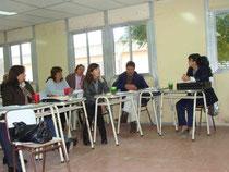 Imágenes de la reunión en Malanzán