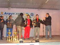 Entrega de trofeos en el Playón Municipal