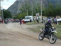 Competencia de motos