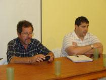 Arq. Arnaldo Vaca y Lic. Daniel Canale