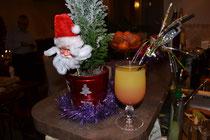 Un cocktail au moment des fêtes...