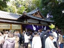 久延彦神社 拝殿