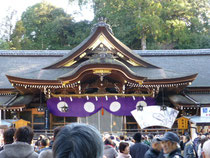 大神神社 拝殿