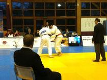 Buendowski im FInale gegen Saito