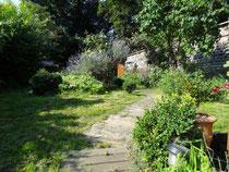jardin de l'école de sophrologie de Liège