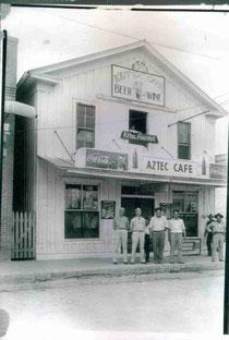 Original Azteca Building 1930