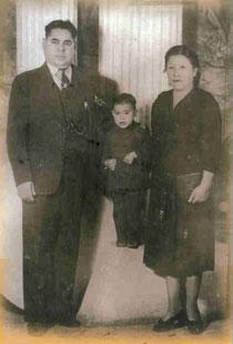 Abel, Arturo, & Juanita, 1940's