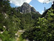 Ötschergraben - zwischen Mirafall und Jodelgraben (größere Ansicht unten)