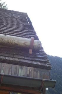 Ortgang beim Schindeldach