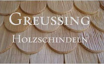 Greussing Holzschindeln Logo