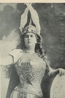 Félia Litvinne photo extraite du Catalogue Pathé de 1904)