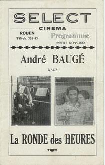 Programme du Cinéma Sélect de Rouen