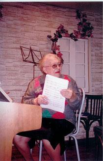 J. Rémignard lors d'une répétition des Cloches de Corneville (photo de l'auteur)
