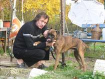 """mit Hund """"Schröder"""""""