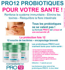 La formule PROBIOTIC  PRO 12 = la protection fois 12 :