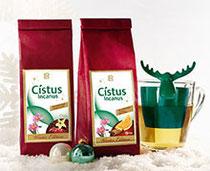 Nouveauté: Arômes d'hiver   Les infusions spéciales Noël sont là ! Laissez-vous détendre par les arômes Cranberry-Vanille ou Orange-Cannelle et savourez votre tisane au 86% de feuilles de Cistus