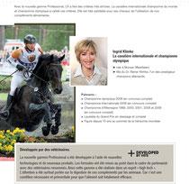 Championne olympique allemande equitation