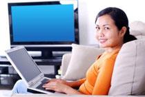 Travail à domicile, que des avantages