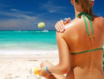 Nos crèmes et lotion solaire  SPF 10 à 50, Aloé véra certifiée IASC.