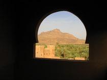 Aprés le circuit Montagne , Désert, palmeraie nous avons profité des ateliers cuisne à la casbah Caîd Ali avec vue sur le Kissan